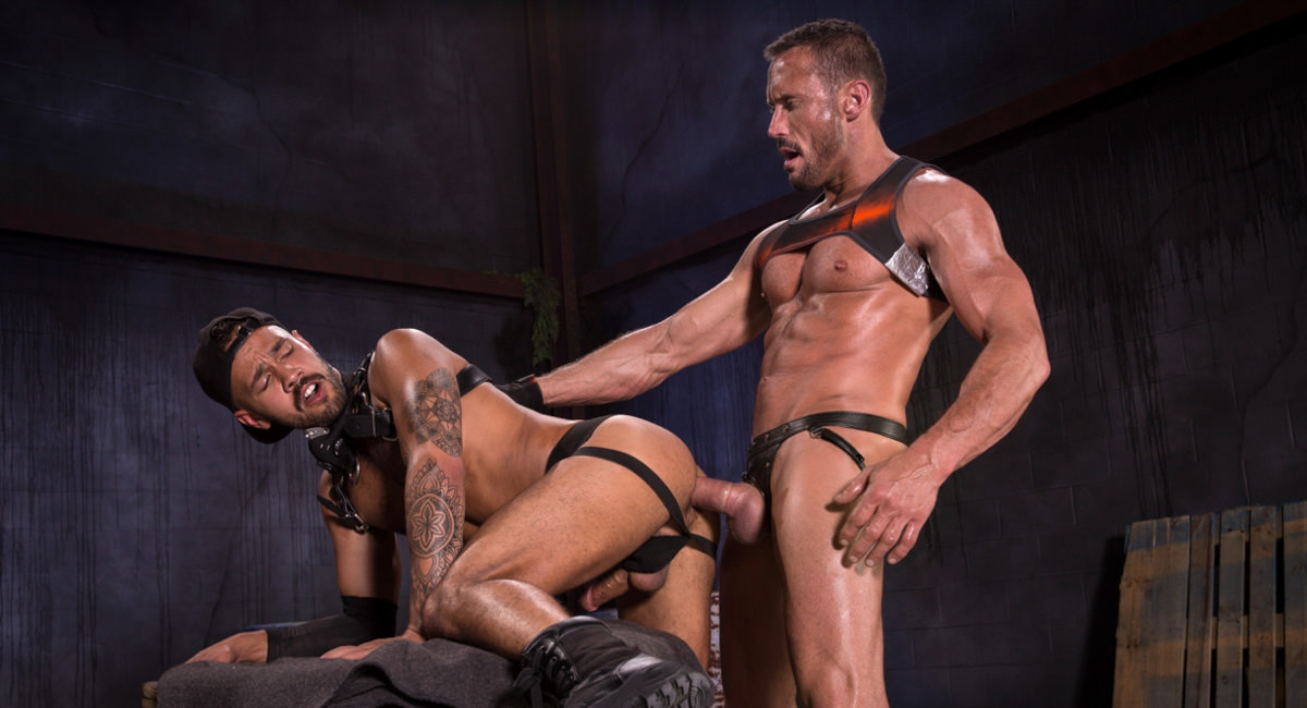 Raging Stallion: Myles Landon & Talon Reed - Wasteland