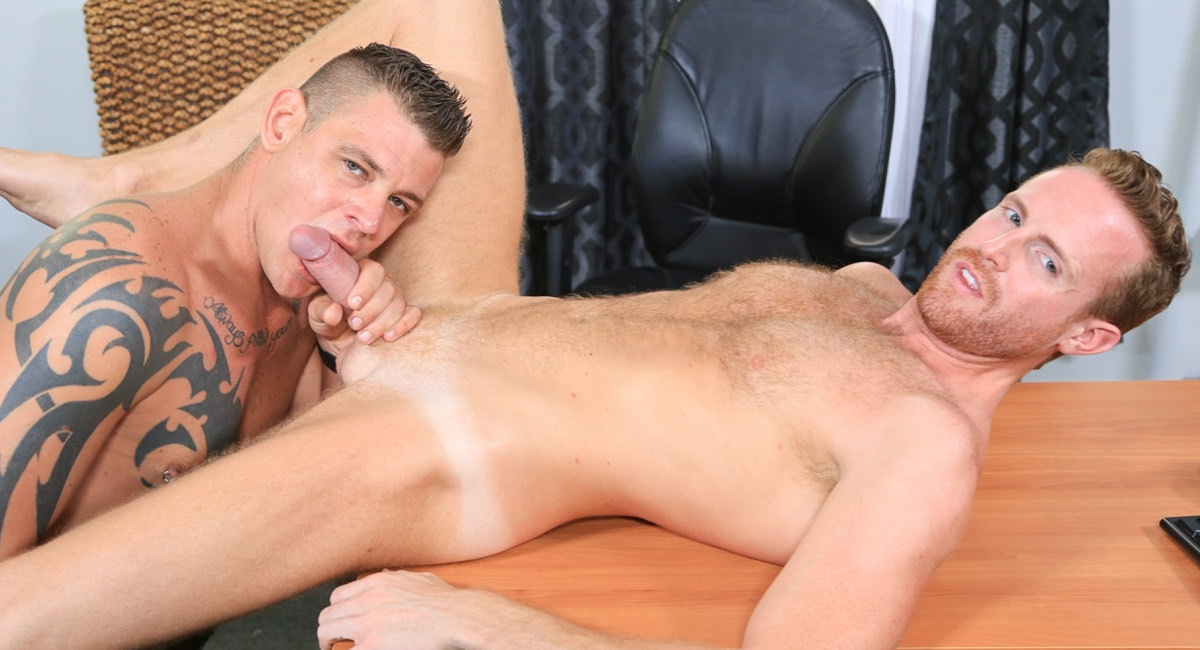 Extra Big Dicks: Jace Chambers & Jack Gunther - My Boss Has a Huge Cock!