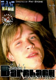 Sancho's Bareback Adventures DVD Cover