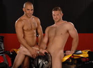On The Set - Austin Wilde & Paul Wagner