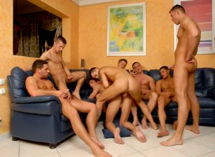 Creampie Orgy, Scene #03