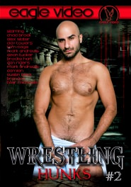 Wrestling Hunks #02 DVD Cover