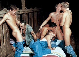 Thirteen Man Initiation Orgy