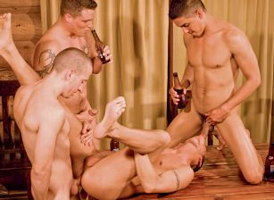Zane Jacobs, Danny Arnez, Shane Frost, Marcus Adams