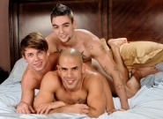 On The Set - Austin Wilde, Johnny Torque & Reed Royce