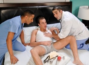 On The Set - Samuel O'Toole, Rhett Brenner & Edwardo Dante