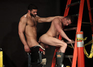 Gay Videos XXX : UNIFORM man - Bob Hager -amp; Scott Hunter!
