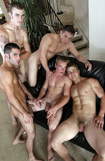 Justin Ryder, Christian Wilde, Marcus Mojo, Dylan McLovin & Aaron Skyline Picture