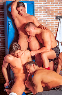 Robert Balint, Krisztian Szabo, Adam Gosett, Marko Pacyna, Nikolas Kiss And Krizstian Stefano Picture