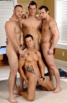 Parker London, Paul Wagner, Phenix Saint, Rod Daily Picture