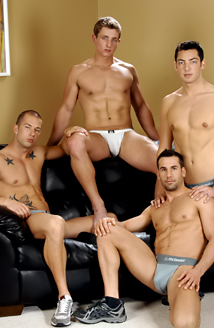 Marcus Mojo, Rod Daily, Tyler Hunt, Zac Picture